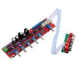 Preamplificador NE5532 Bord HIFI Painel de controle de volume da placa de tom 5.1 Placa de mixagem do pré-amplificador Placa pré-amplificadora