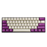 MechZone 108 Keys Milk Purple Keycap Set OEM الملف الشخصي PBT Keycaps for 61/68/87/104/108 Keys Mechanical Keyboards