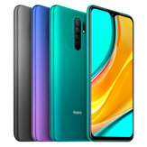 Xiaomi Redmi 9 Global Version NFC 6.53 inch رباعي Rear الة تصوير 4GB رام 64GB روم 5020mAh Helio G80 ثماني core 4G Smartphone