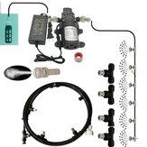 Irrigation de tuyau de système de refroidissement de brouillard d'eau de pompe d'amorçage d'individu de diaphragme 5L / Min