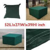134x70x99cm Bahçe Outdoor Mobilya Su Geçirmez Nefes Alınabilen Toz Örtüsü Masa Örtüsü
