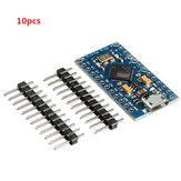 10pcs Pro Micro 5V 16M Mini Leonardo Microcontroller Development Board Geekcreit for Arduino - products that work with official Arduino boards