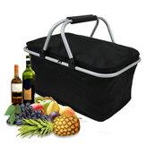 IPRee ™ 30L összecsukható tábori piknik szigetelt táska jéghűtő akadályozza ebéd étel tároló kosár