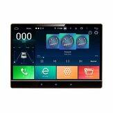 YUEHOO PX5 12,2 polegadas para Android 10.0 Car Stereo Radio 8 Core 4 + 64G Touch Screen bluetooth GPS WIFI FM AM