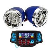 Moto LCD Écran MP3 Haut-parleurs Guidon Audio USB SD FM avec fonction Bluetooth