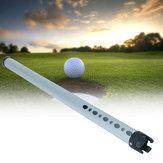 5.5x98cm 1pc outdoor aluminium golfbal picker sport praktijk shagger halen tube retriever