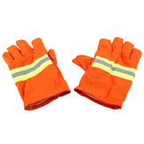 Fire Protective Gloves Fire Proof Heat Proof Waterproof Flame-retardant Non-slip Fire Fighting Anti-fire Gloves