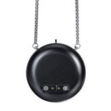LED Air Purifier Necklace Portable Wearable USB Negative Ion Generator Remover