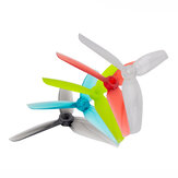2 Pairs Gemfan WinDancer 4032 4x3.2x3 3-blade 4 Inch Propeller PC CW CCW for RC Drone FPV Racing