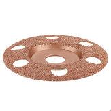 Drillpro 4-1 / 2 İnç Açılı Taşlama için Ahşap Oyma Diski Tungsten Karbür Kaplama Şekillendirme Diski