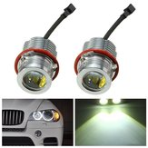 Paar 60W Angel Eyes Halo Ring Maker Lichtfout Gratis voor de BMW E39 E60 E63 E53