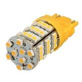 Üniversal 3157 Amber Sarı 54SMD LED Sinyal Sinyali Açıcı Köşe Işısı Lamba Ampul