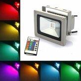 10w rgb cor 900LM rgb mudando exterior LED luz de inundação AC85-265V
