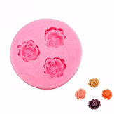 Rose Silicone Fondant Mold Cake Decorating Mould Gum Paste Sugarpaste Mold FDA LFGB