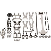 WLtoys 1/18 A949 A959 A969 A979 K929 Upgraded Metal RC Car Parts Kit Color Grey