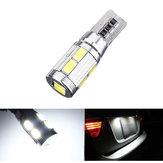 Coche LED canbus 10smd 5630 error t10 libre W5W 194 el bulbo 168 lado