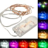 1M Battery Powered 10 LED Copper Wire Fairy String Light Wedding Christmas Party Lamp