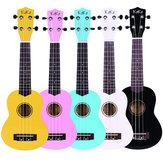 Enya KAKA 21 Cal Colorful Ukulele akustyczne Uke 4 struny Hawaii Guitar Guitarra Musica Instrument dla dzieci i muzyki Początkujący