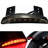دخان 12 فولت ليد الفرامل الذيل ضوء ل Harley Davidson سبورتستر xl883n 883l 1200c 1200l 1200n 1200r