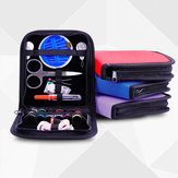 26pcs viaggio cucito Kit Bag Emergenze Strumenti di cucito Riempito bagagli Sacchetto Con Scissor ago Discussione