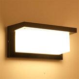 12W LED جدار ضوء ضد للماء مصباح تحريض جسم الإنسان الممشى في الهواء الطلق حديقة