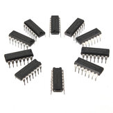 10Pcs SN74HC14N 74HC14 Chip IC DIP-14 6 Inverting Schmitt Trigger