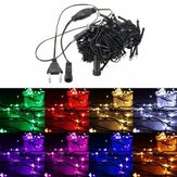 10M 100 LED String Fairy Light Outdoor Christmas Holiday Wedding Party Lamp 220V