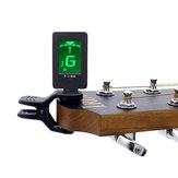 IRIN T-100 Accordatore per chitarra portatile Sintonizzazione per basso elettrico Violino Ukulele