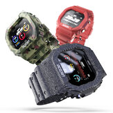 LOKMAT OCEAN IP68 Waterproof Wristband Heart Rate Monitor Multi-sport Mode Camera Remote Control Smart Watch