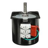 Engranaje síncrono eléctrico de la caja de engranajes de alto par de CA 220 V 2.5 RPM motor