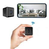 W10 1080P HD Mini Wireless Wifi камера Инфракрасное ночное видение с обнаружением движения Широкоугольный угол 90 градусов Wifi камера