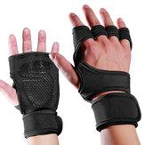 Mumian1paioPalmosportivoHalf-finger Guanti Man Woman Wrist Protezioni Antiskid Idoneità Sport Guanti Supporto a mano