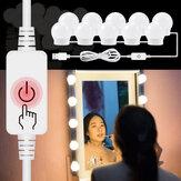 14 Lampu Dimmable Membuat Cermin Lampu LED Kit Lampu Rias Rias Hollywood