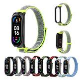 Bakeey Comfortable Sweatproof Nylon Canvas Watch Band Armbandersatz für Xiaomi Mi Band 6/Mi Band 5 Nicht original