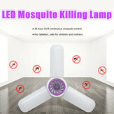 40W E27 LED Mosquito Lamp Electric Fly Bug Zapper Insect Killer UV Trap Night Light Bulb AC85-265V