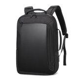 बिज़नेस बैकपैक लैपटॉप कंप्यूटर बैग स्कूलबैग शोल्डर स्टोरेज बैग वाटरप्रूफ विथ USB हेडसेट इंटरफ़े