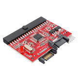 Bidirectional SATA to IDE Adapter IDE to SATA Hard Drive Converter Card with Sata Cable Power Cable
