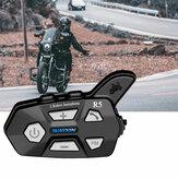 WAYXIN R5 2 stks bluetooth Intercom 2 Rider FM Motorfiets bluetooth Helm Intercom 1000 M MOTO Interphone Helm Headsets
