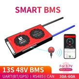 DALY BMS 13S 48V 30A 40A 60A 18650 Smart Bluetooth 485 to USB Device CAN NTC UART Software Togther Li-on Battery Protection Board