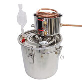 12l Professional Stainless Boiler Alcohol Moonshine Water Copper W*ine B*eer Making Hine Home Stainless Alcohol Distiller Gift