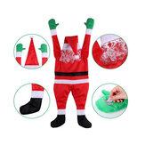 Weihnachten Santa Claus Anhänger Dekor hängen große Santa Kleidung Weihnachten frohes neues Jahr Tür Fenster Auto Dekoration
