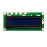 3Pcs 1602 Character LCD Display Module Blue Backlight Geekcreit for Arduino - products that work with official Arduino boards