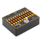 Caline CP-24 DC 9V 10 Band EQ-Gitarreneffektpedal True Byass Guitar Equalizer Professionelle Pedale