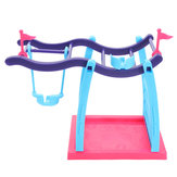 DIY Christmas Gift Finger Baby Animal Pets Swing Climbing Frame Playset Table Decoration Toys