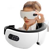 Chauffage électrique Massage Bluetooth Eye Massager Compresse chaude Thérapie Lunettes Soins des yeux Fatigue Soulagement Machine