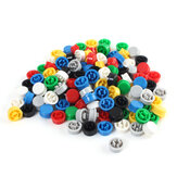140pcs Round Tactile Button Cap Kit per interruttori tattili 12x12x7.3mm