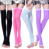Women Winter Warm Vintage Spandex Good Elastic Silk Socks
