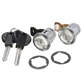 Juego de 2 llaves Lockcraft Door Lock Cylinder para Citroen Berlingo Peugeot