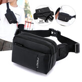 Men Fashion Light Weight Crossbody Bag Chest Bag Waist Bag