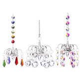 Crystal Lighting Ball Pendant Beads Chandelier Hanging Drop Prisms Suncatcher for Home Decoration